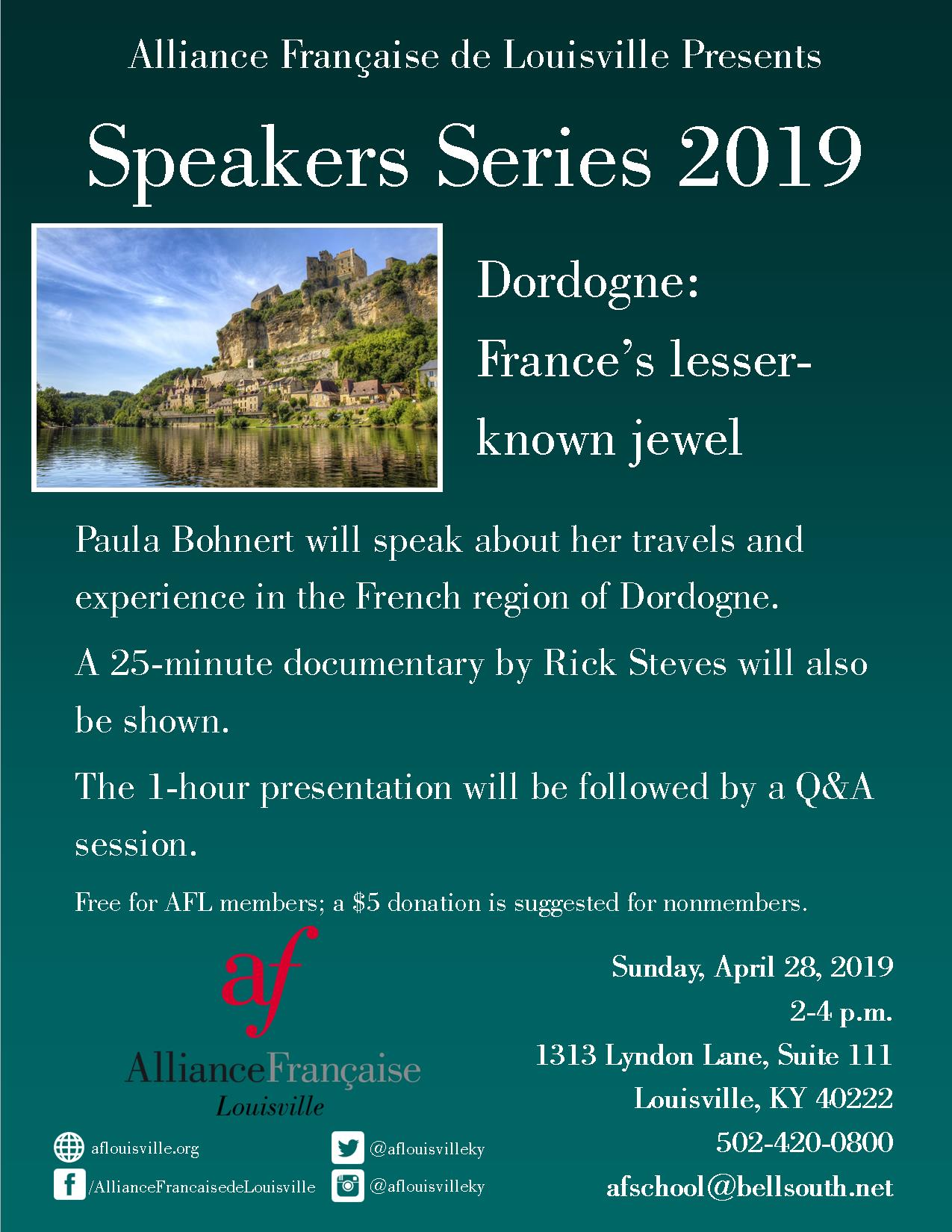 Dordogne flyer