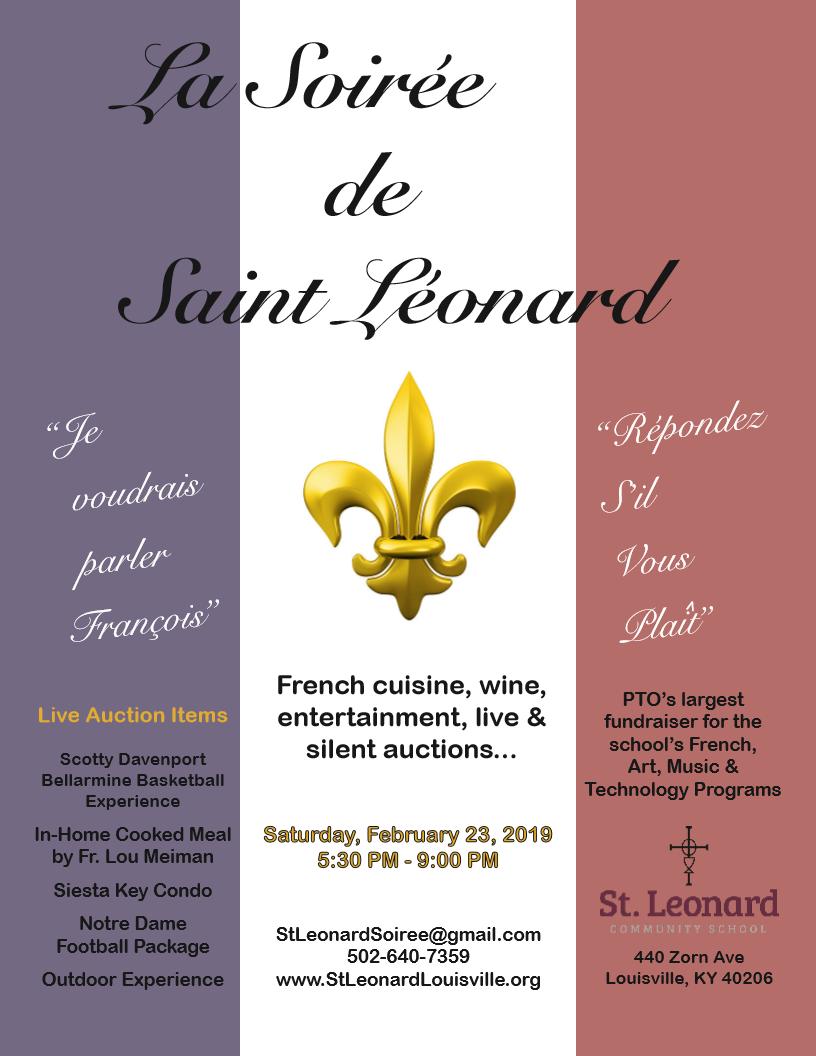 St Leonard Fundraiser